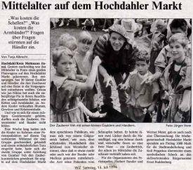 Mittelalter auf dem Hochdahler Markt